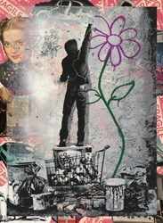 Eternity by Mr. Brainwash - Unique sized 22x30 inches. Available from Whitewall Galleries